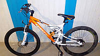 Спортивный велосипед 26 дюймов  Azimut-CROSSER  Scorpion бело-оранжевый***