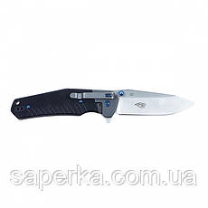 Нож походный Ganzo (черный, зеленый, оранжевый) G7491-BK, фото 3