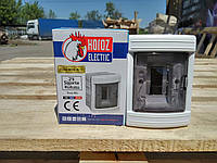 Щиток Horoz Electric на 2 модуля врезной Fuse Box-R/2
