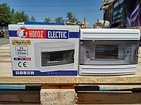 Щиток Horoz Electric на 6 модулей накладной Fuse Box-S/6