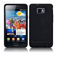 Чехол силиконовый для Samsung Galaxy S2 (i9100) black