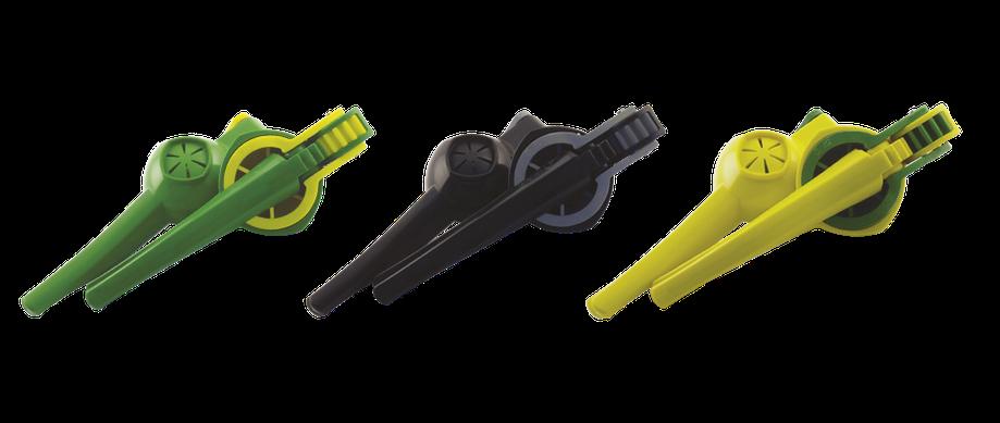 B018G Видавлювач для цитрусових зелений 250 мм, d 85 мм, пластик, фото 2
