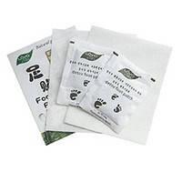 Пластырь на стопы ЦзюньЧжиГун для выведения токсинов (в упаковке 1 пакет 2 пластыря)