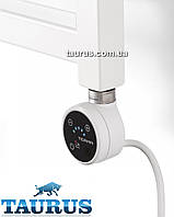 Белый электроТЭН TERMA MOA IR white с регулятором + таймер 2ч. + под пульт ДУ + звук. Мощность  от 100-1000Вт.