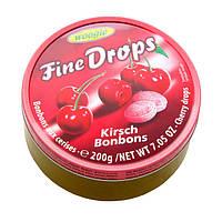 Леденцы (конфеты)  Fine Drops (мелкие капли)  вкус вишни Австрия 200г