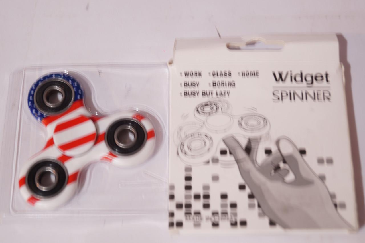 Hand Fdiget Spinner Фиджет спиннер Flag color трех-лучевая звезда
