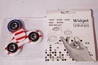 Hand Fdiget Spinner Фиджет спиннер Flag color трех-лучевая звезда  , фото 1