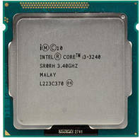 Б/У Процессор Intel Core i3-3240 3.4GHz/5GT/s/3MB (BX80637I33240) s1155 Tray