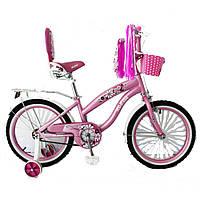 Двухколесный велосипед для девочек Rueda на 12, 16,18, 20 д