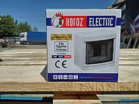 Щиток Horoz Electric на 4 модуля накладной Fuse Box-S/4