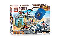 Детский Конструктор для мальчиков Конструктор Brick 1913 Полиция  290дет.,