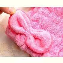 Шапочка д для сушки волос микрофибры