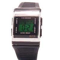 Часы наручные с подсветкой пластмассовые