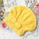 Шапочка д для сушки волос микрофибры, фото 1