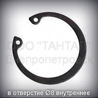 Кольцо 8 ГОСТ 13943-86 (DIN 472) стопорное эксцентрическое внутреннее