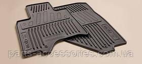 Infiniti QX50 2014-17 резиновые коврики в салон передние задние черные Новые Оригинальные