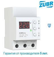 Реле напряжения для защиты через контактор ZUBR D16