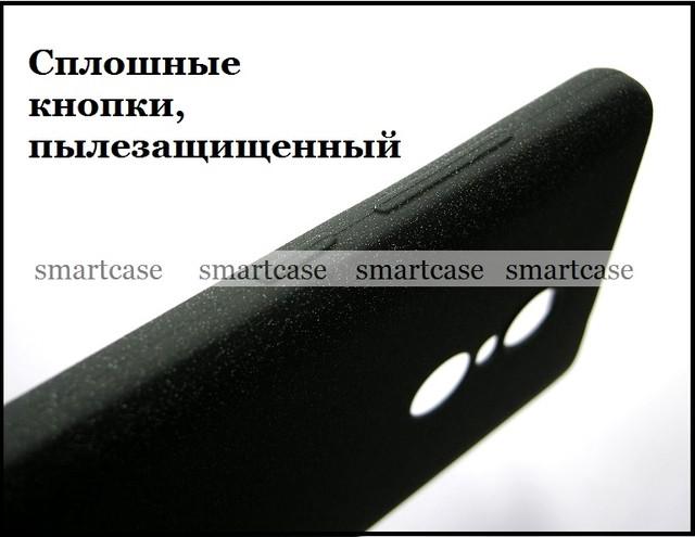 черный tpu бампер Xiaomi Note 4x