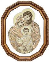 Вишивка бісером Святе Сімейство (сепія-2)