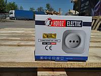 Розетка Horoz Electric накладная EVA