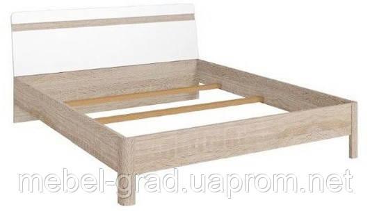 Кровать двухспальная LOZ/160 Liberti / Либерти BRW 160х200