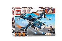 Детский Конструктор для мальчиков Конструктор Brick 1911 Полиция 269дет.,