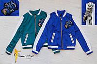 Курточка шёлк на шелковом подкладе  Размер единый С-М(21140)