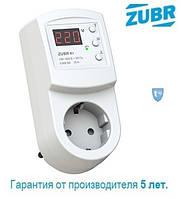 Реле напряжения в розетку ZUBR R116y