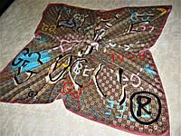 Платок Gucci шёлковый можно приобрести на выставках в доме одежды Киев