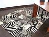 Ковер зебра, ковры с рисунком зебры больших размеров 400х600