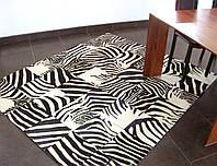 Ковер зебра, ковры с рисунком зебры больших размеров 400х600, фото 1