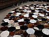 Практичные ковры, красивые кожаные ковры, необычный ковер