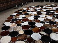 Практичные ковры, красивые кожаные ковры, необычный ковер, фото 1