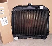 Радиатор охлаждения водяной ГАЗ Волга 2410, 31029 медный 3-х рядный