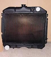 Радиатор охлаждения водяной ГАЗ Волга 2410, 31029 медный 2-х рядный