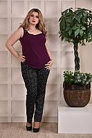 Фиолетовая блузка 0246-3 Garry Star 0246-3