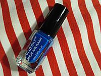Лак-краски качественные для стемпинга синяя Bluesky STAMPING NAIL POLISH