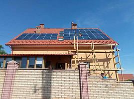 Сонячна мережева електростанція, потужність 10 кВт*год, м. Чернівці 3