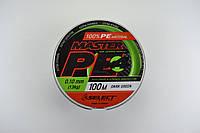 Шнур спиннинговый Select Master PE (0.16 мм.), фото 1