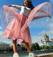 Женская красивая пышная юбка из фатина (3 цвета)