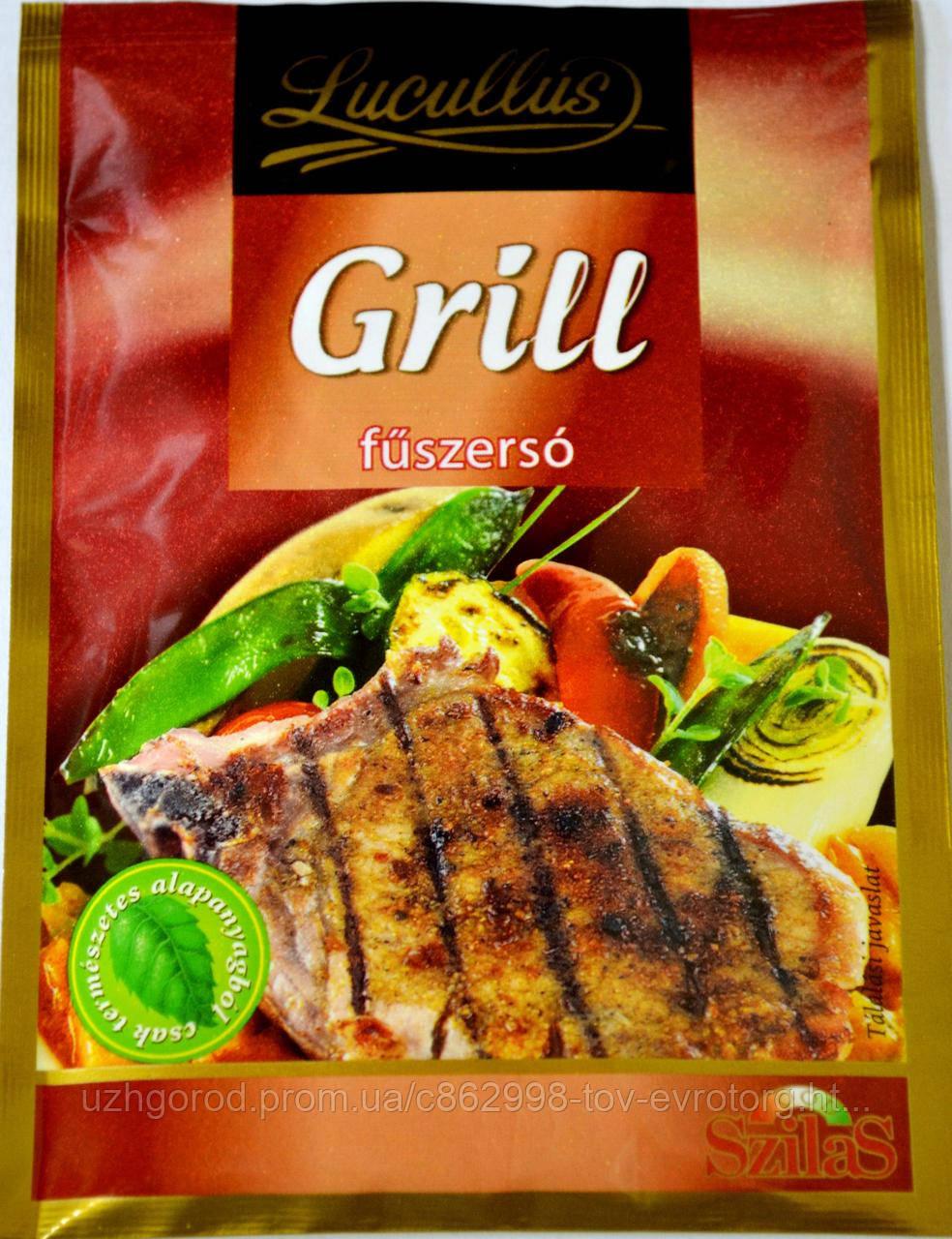 Приправа для мяса гриль Grill BBQ pikans fuszerso 40h.