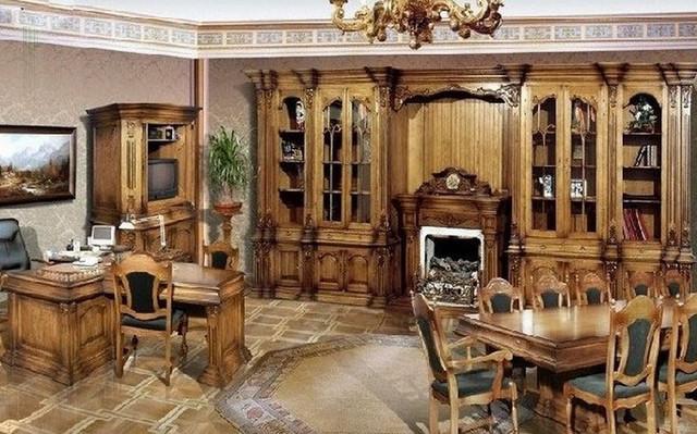 Мебель из массива дуба – работайте с удовольствием!