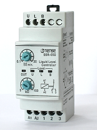 Уровень жидкости - реле контроля уровня воды TENSE + задержка включения насоса