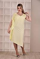 Желтое платье 0265-1