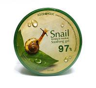 Увлажняющий гель для лица и тела Food a Holic Mucus Snail Soothing Gel, фото 1