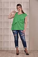 Зеленая блузка 0272-1 Garry Star 0272-1