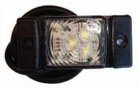Габарит светодиодный передний LED (белый) (LD140) 72x33