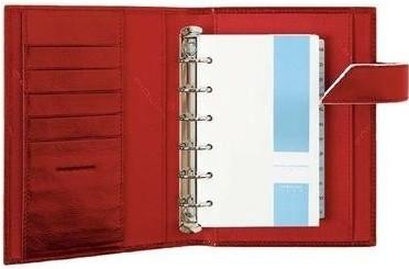 Удобный кожаный органайзер Piquadro Blue Square  AG1834B2_R, красный