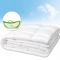 Одеяло Le Vele Aloe Vera нанофайбер 195-215 см белое