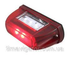 Подсветка номерного знака LED LTD669 (красная)